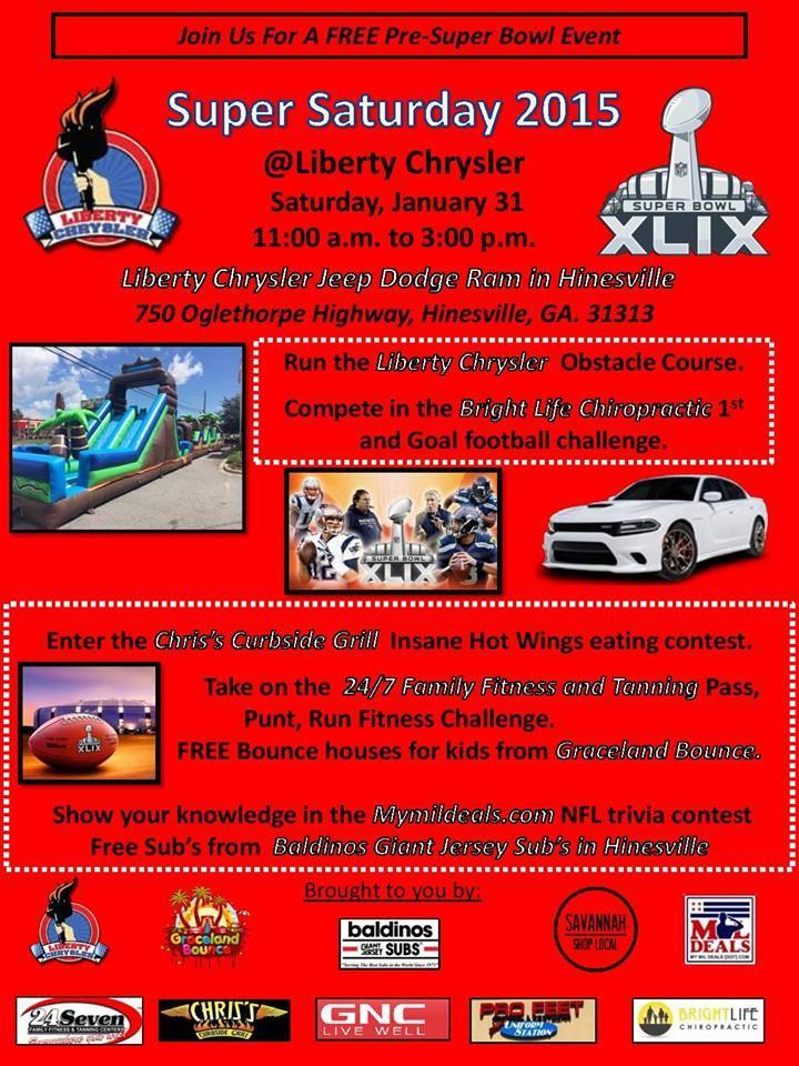Super Saturday At Liberty Chrysler Jeep Dodge RamLiberty County - Liberty chrysler dodge jeep