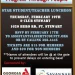 Star Student 2015 Invite