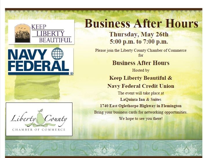 Business after hours hosted by keep liberty beautiful and navy business after hours hosted by keep liberty beautiful and navy federal credit union colourmoves