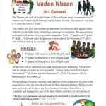 vaden-nissan-art-contest