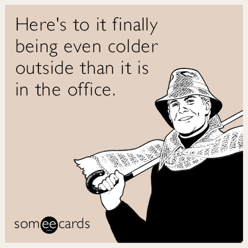 office air conditioning summer fall cold funny ecard zks liberty