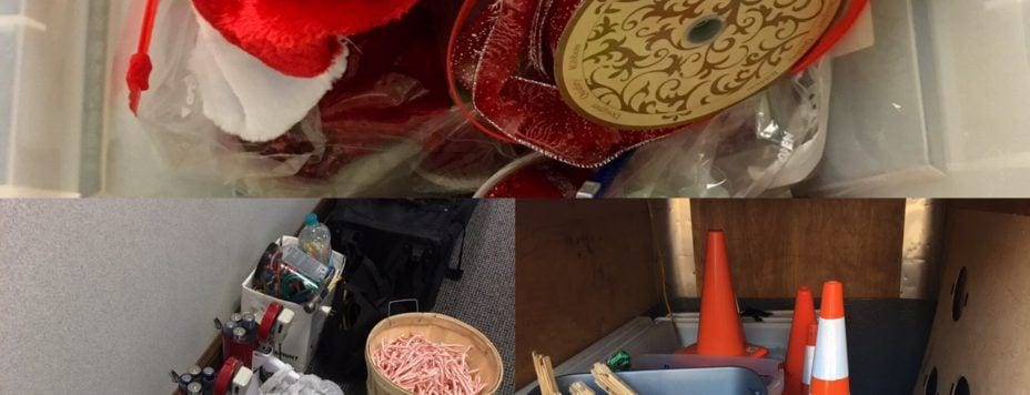 christmas parade stuff