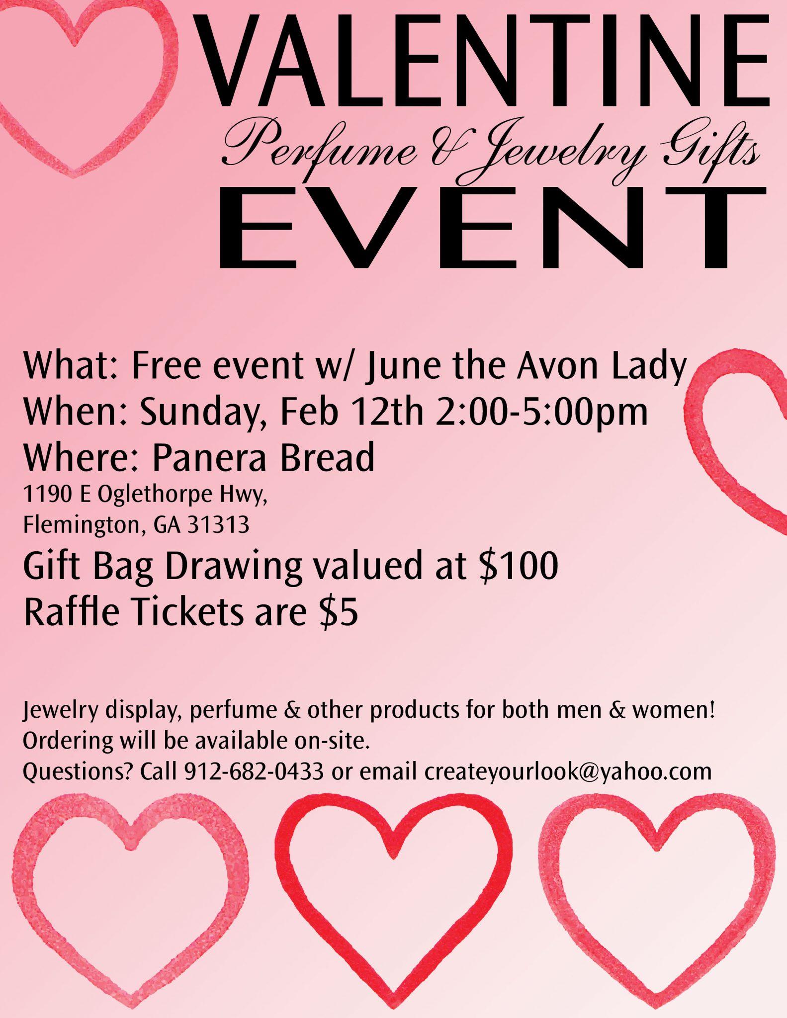 valentine perfume jewelry gifts event - Valentine Perfume