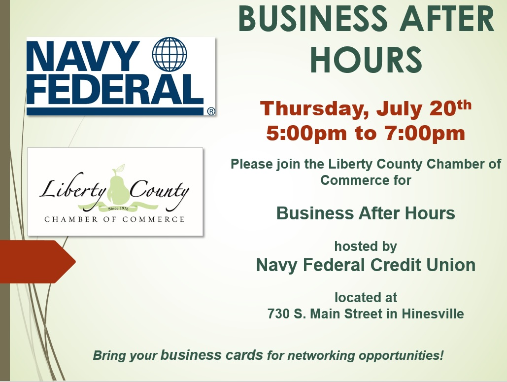 Business After Hours hosted by Navy Federal Credit UnionLiberty ...