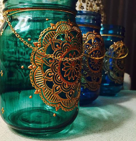 Women S Craft Night Henna Jar Lampsliberty County Georgia