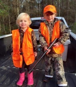 Photo provided by Ashley Sittle, pictured are Lanier & Chi Sittle, the grandchildren of Ms Susan Poole McCorkle!