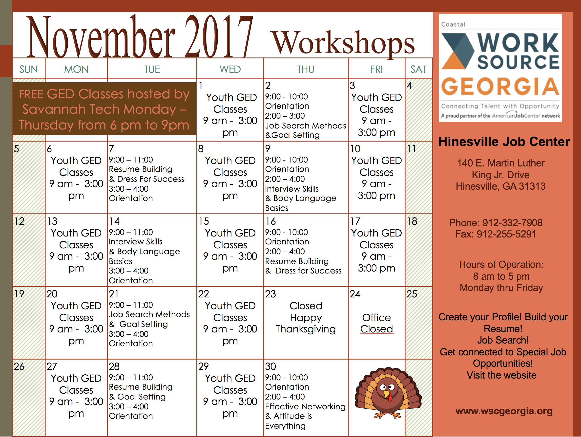 Resume Building & Goal Setting WorkshopLiberty County, Georgia ...