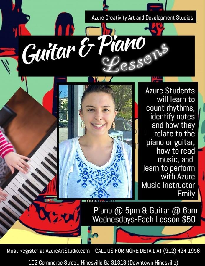 Childrens Guitar Piano Lessonsliberty County Georgia