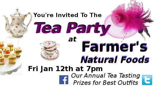 Tea Party At Farmers Natural Foods