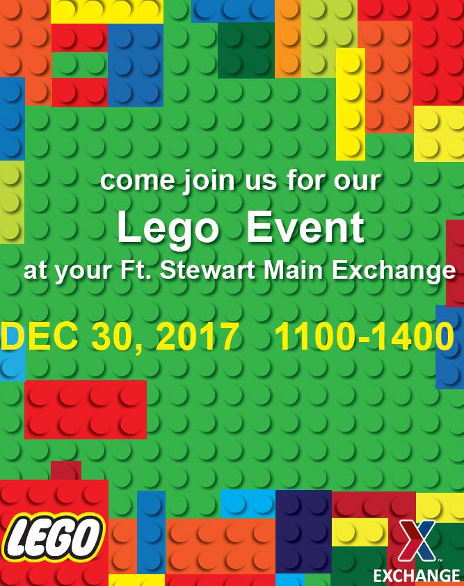 lego free build at fort stewart main exchangeliberty county georgia