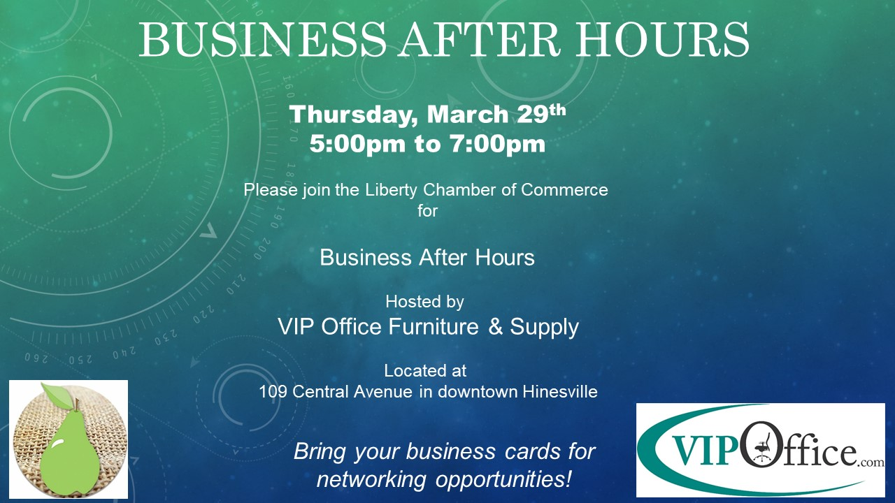 March Business After Hours Hosted By Vip Office Furniture Supply