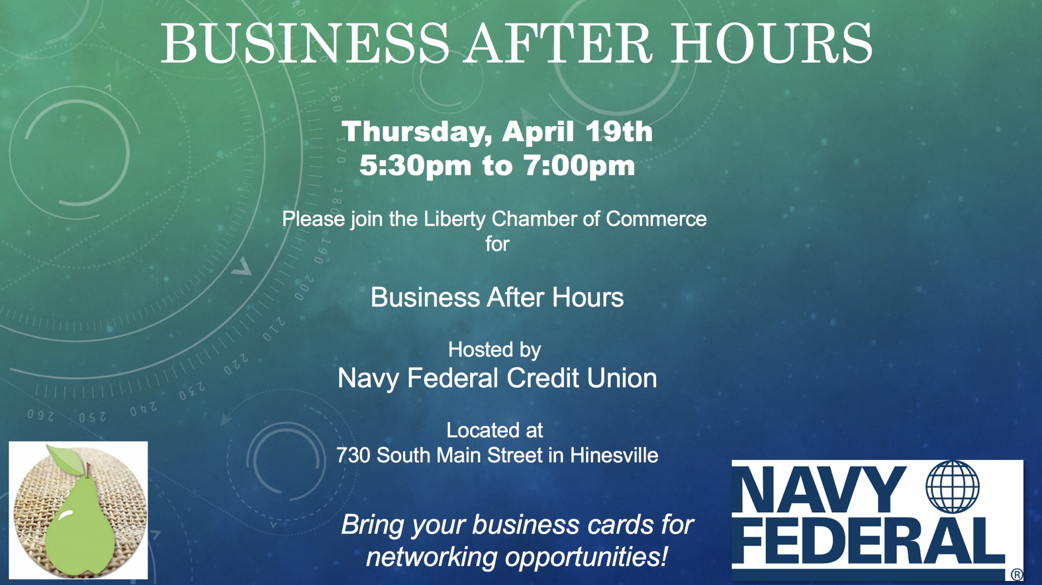 April business after hours hosted by navy federal credit april business after hours hosted by navy federal credit union colourmoves