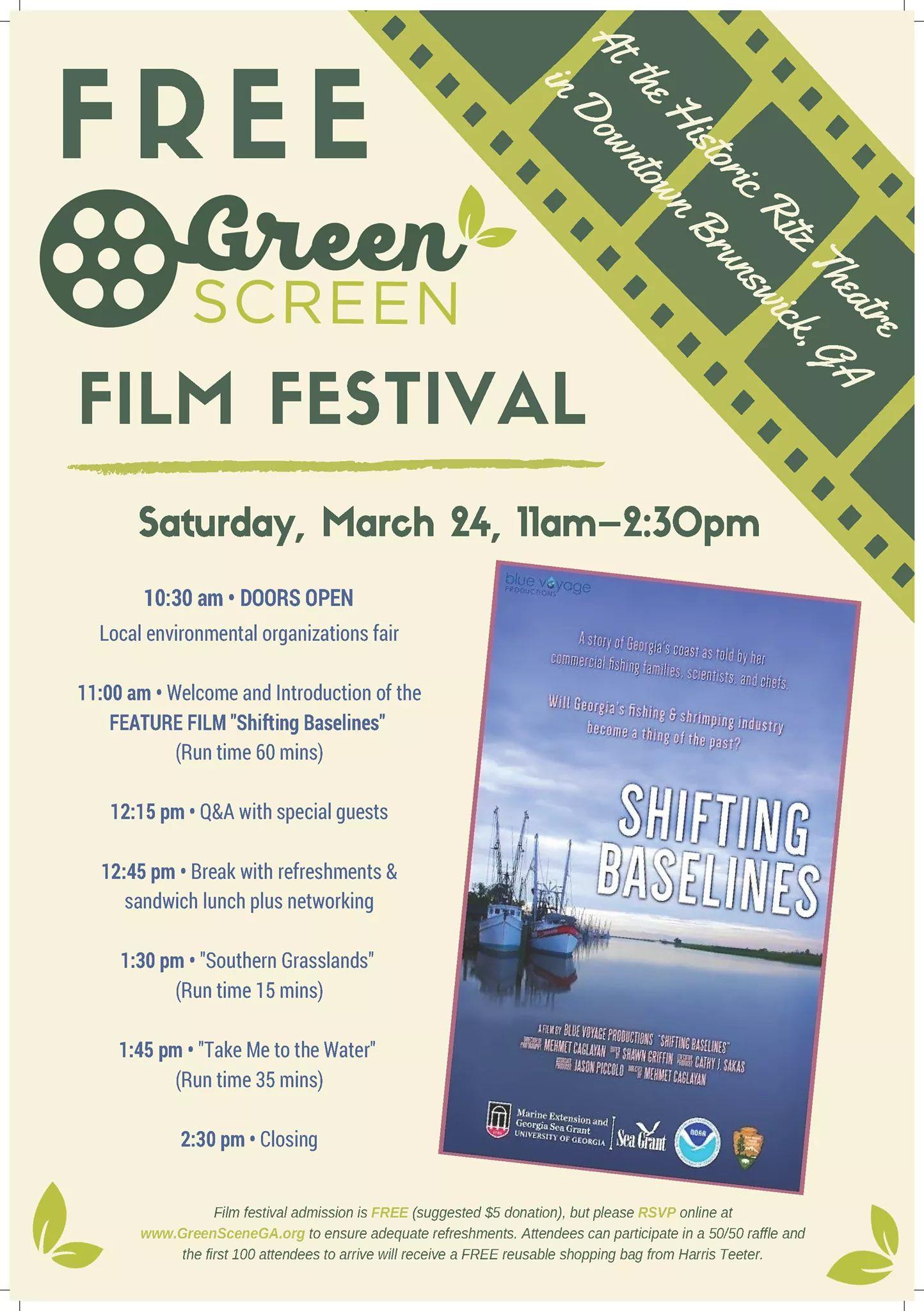 Free Green Screen Film FestivalLiberty County, Georgia | Hospitality ...