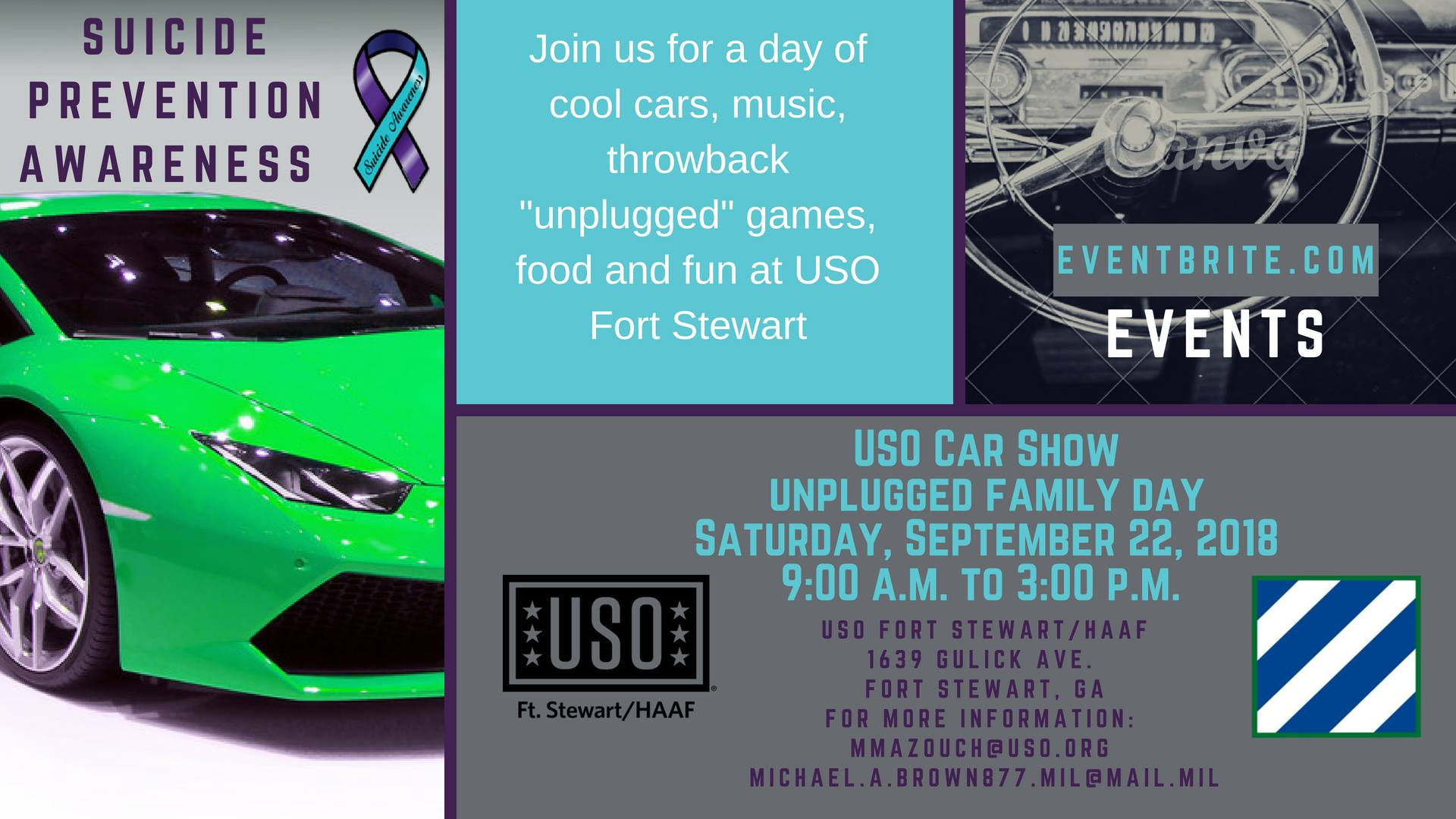 USO Car Show Unplugged Family DayLiberty County Georgia - Car show games