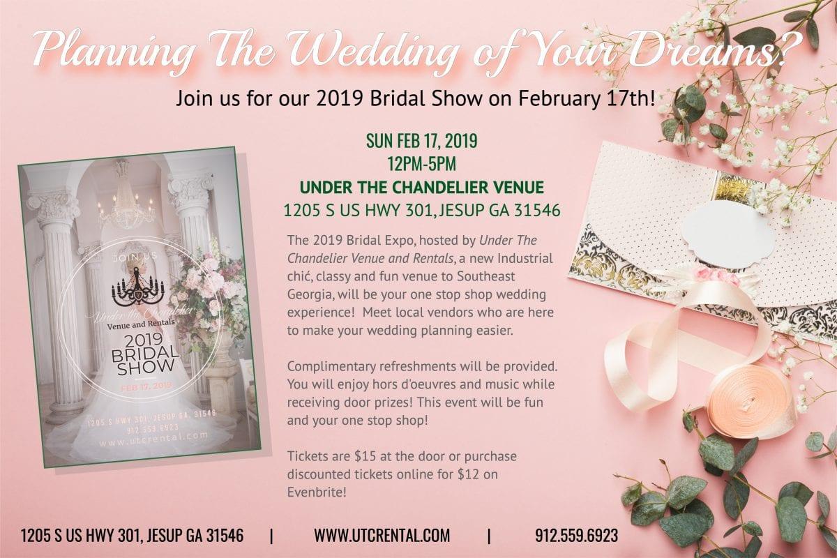 2019 Bridal ShowLiberty County, Georgia | Hospitality, Commerce