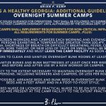 Guideline and Requirements Regarding Summer Camps