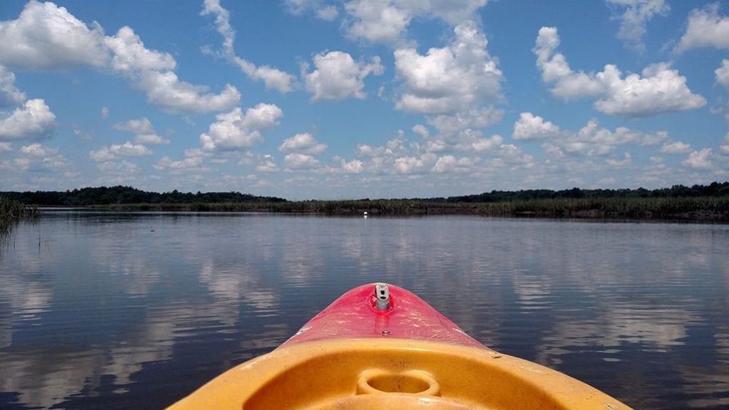 Kayaking in Liberty County, Georgia.
