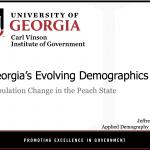 Progress Through People Luncheon October 2019 - Georgia's Evolving Demographics