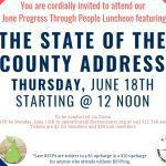 Progress Through People Luncheon June 2020 - The State of the County Address