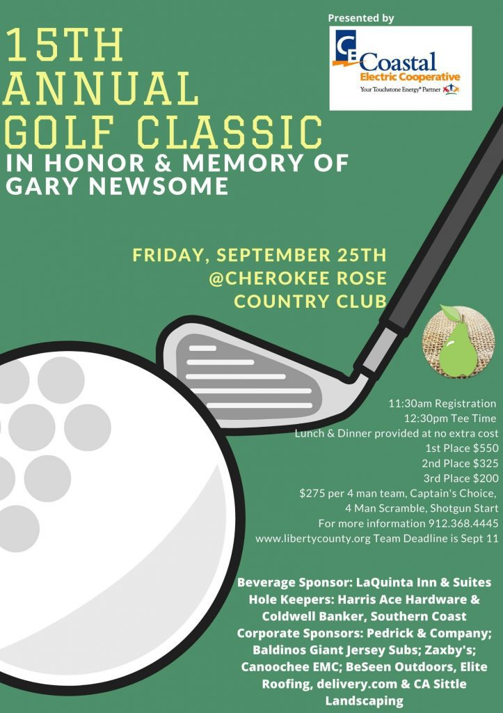 15th Annual Gold Classic In Honor & Memory f Gary Newsome