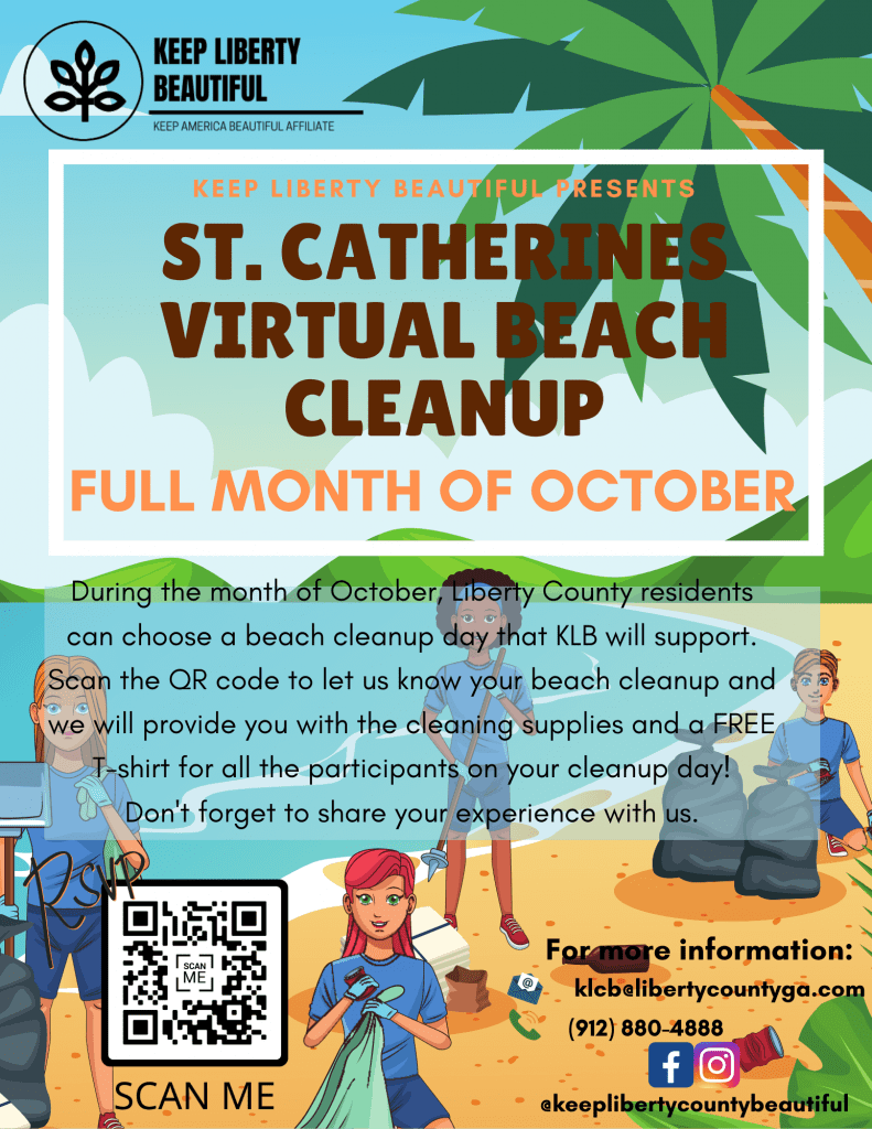 St. Catherines Virtual Beach Cleanup