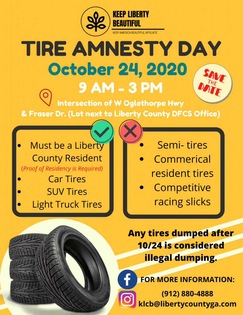 Tire Amnesty Day