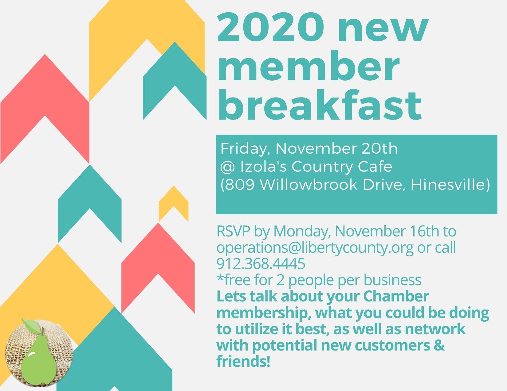 2020 New Membership Breakfast