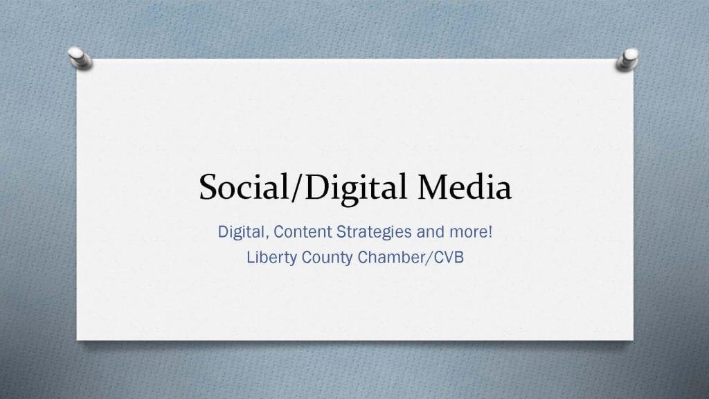 Social/Digital Media Workshop