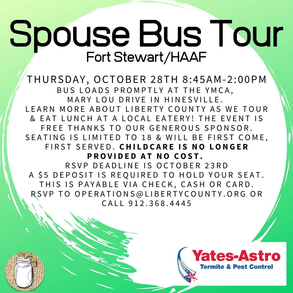Spouse Bus Tour
