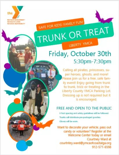 YMCA Trunk or Treat