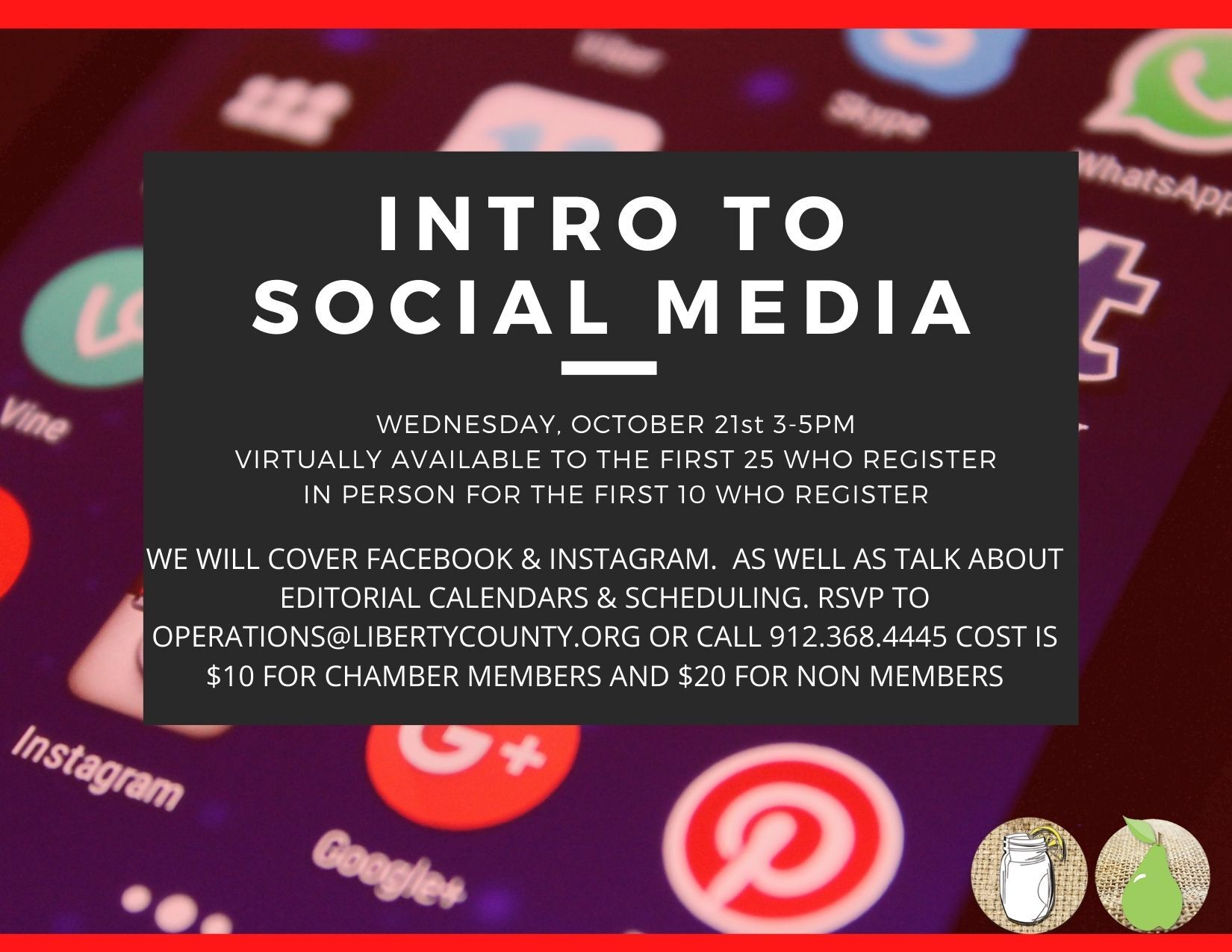 Intro to Social Media Workshop