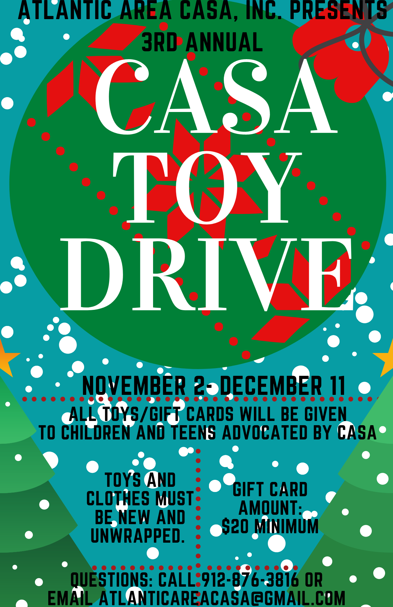 atlantic area casa inc toy drive