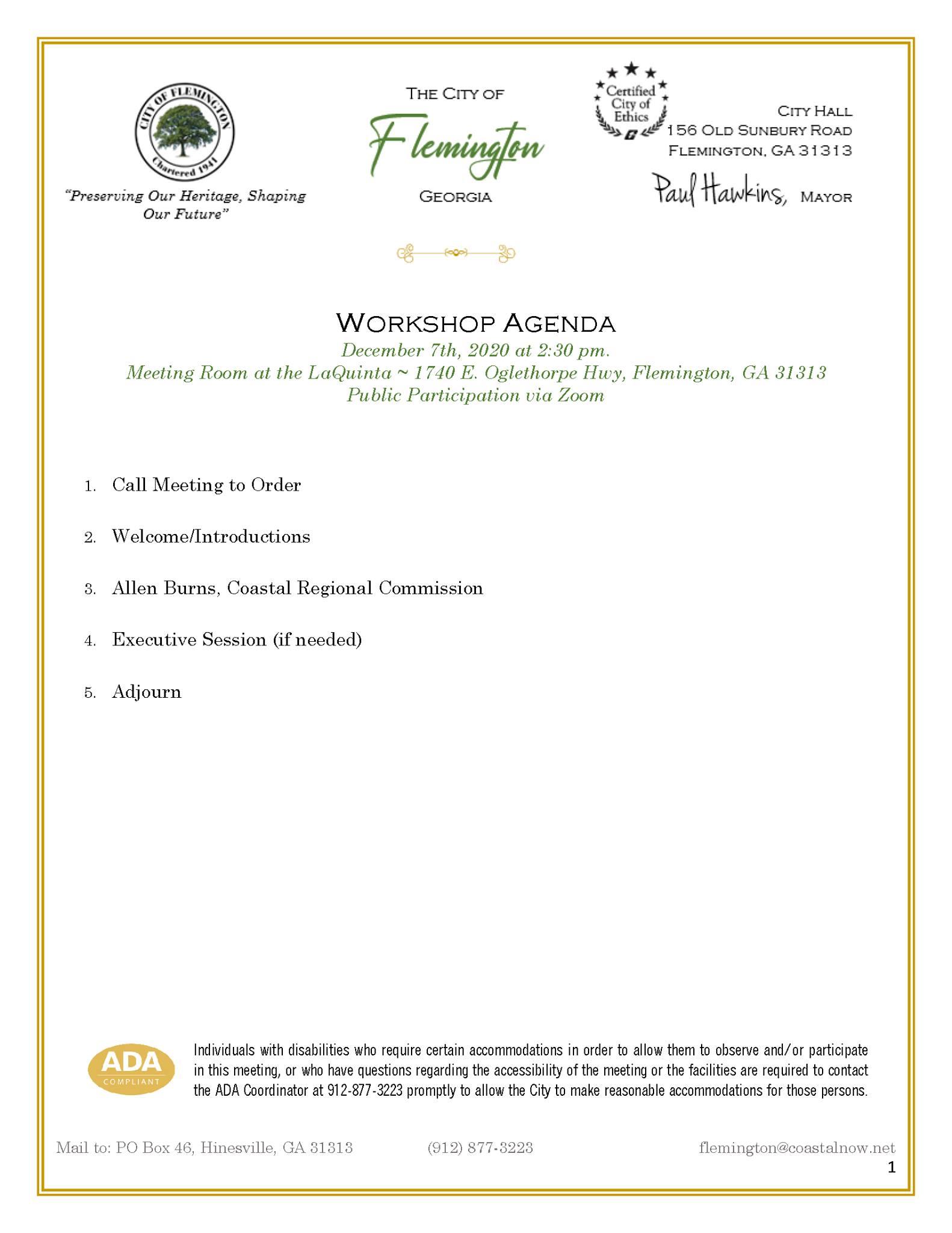 Future Growth Workshop