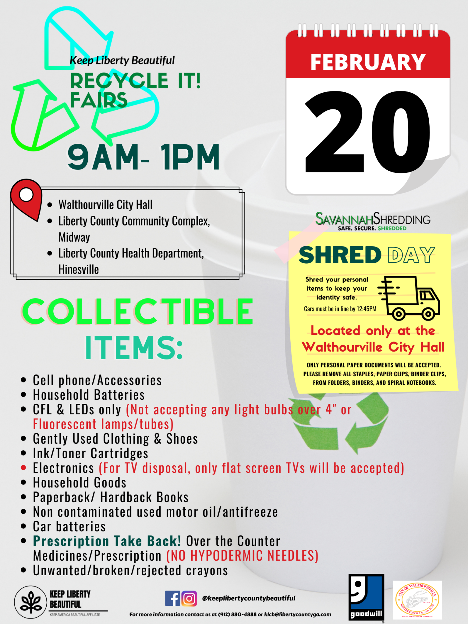 KLB Feb Recycle It Flyer