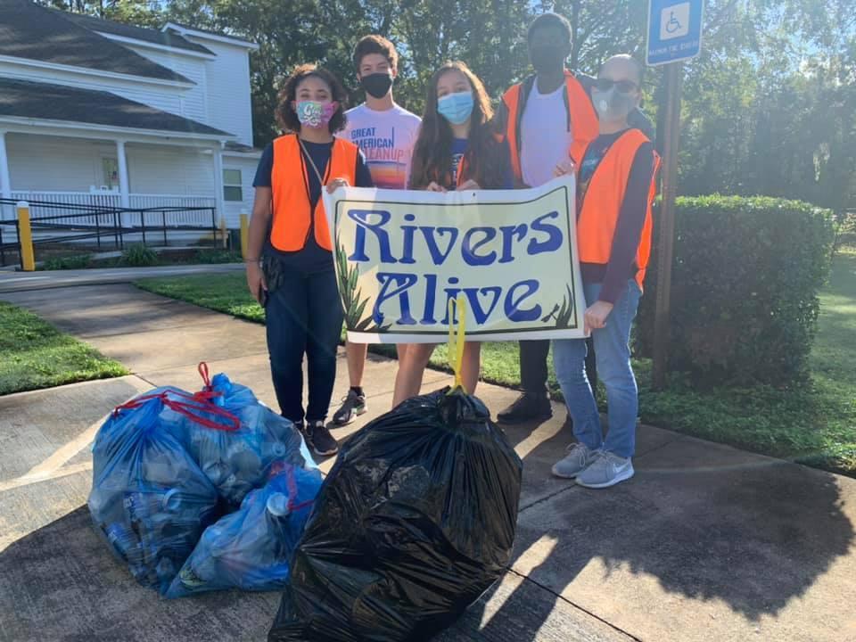Volunteers for Rivers Alive