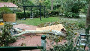 Damage after Hurricane Irma
