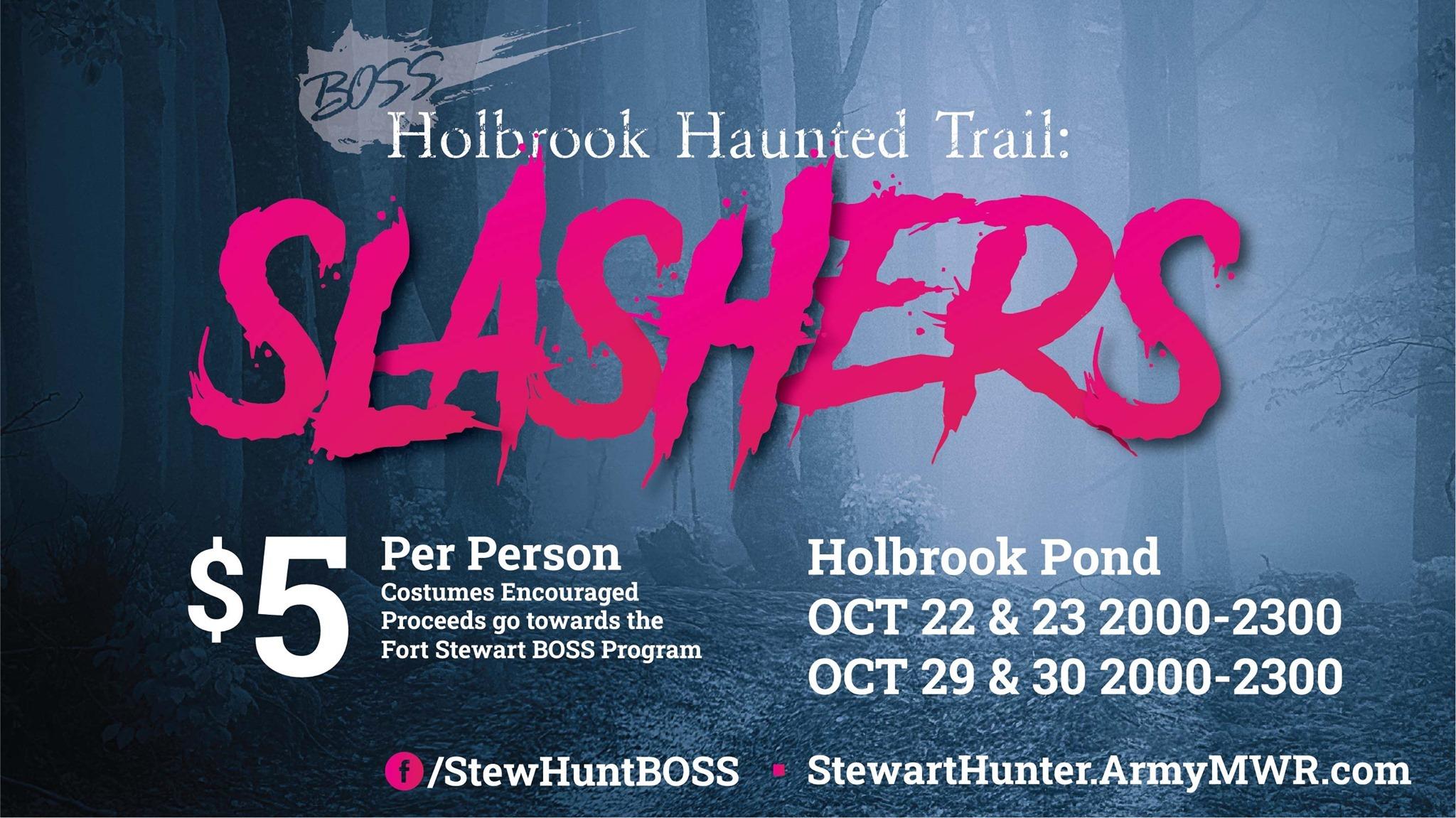 Holbrook Haunted Trails: Slashers