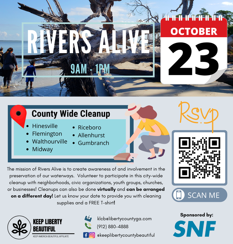 Rivers Alive County Wide Cleanup