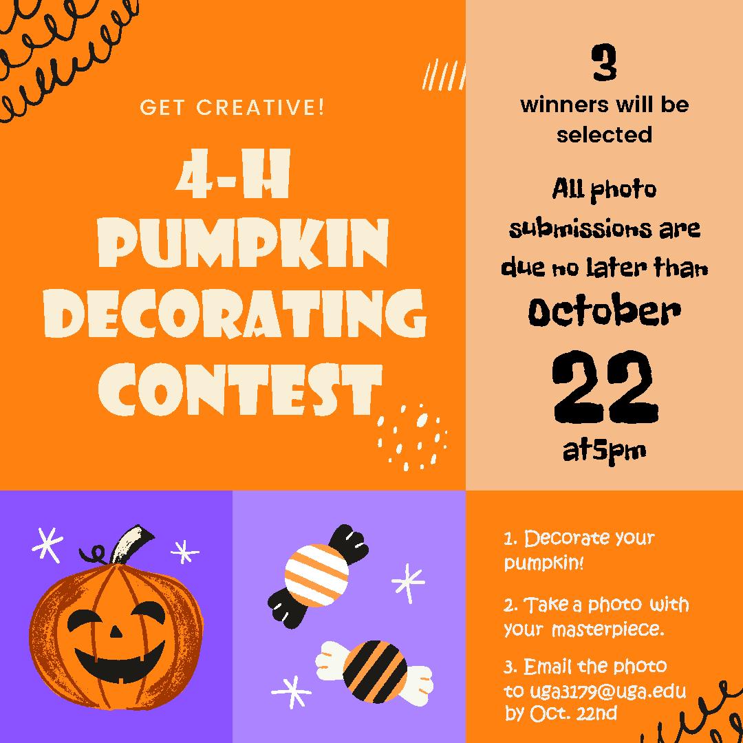 4-H Pumpkin Decorating Contest