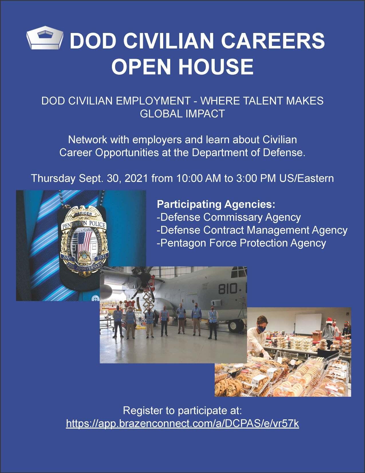 DOD Civilian Careers Open House