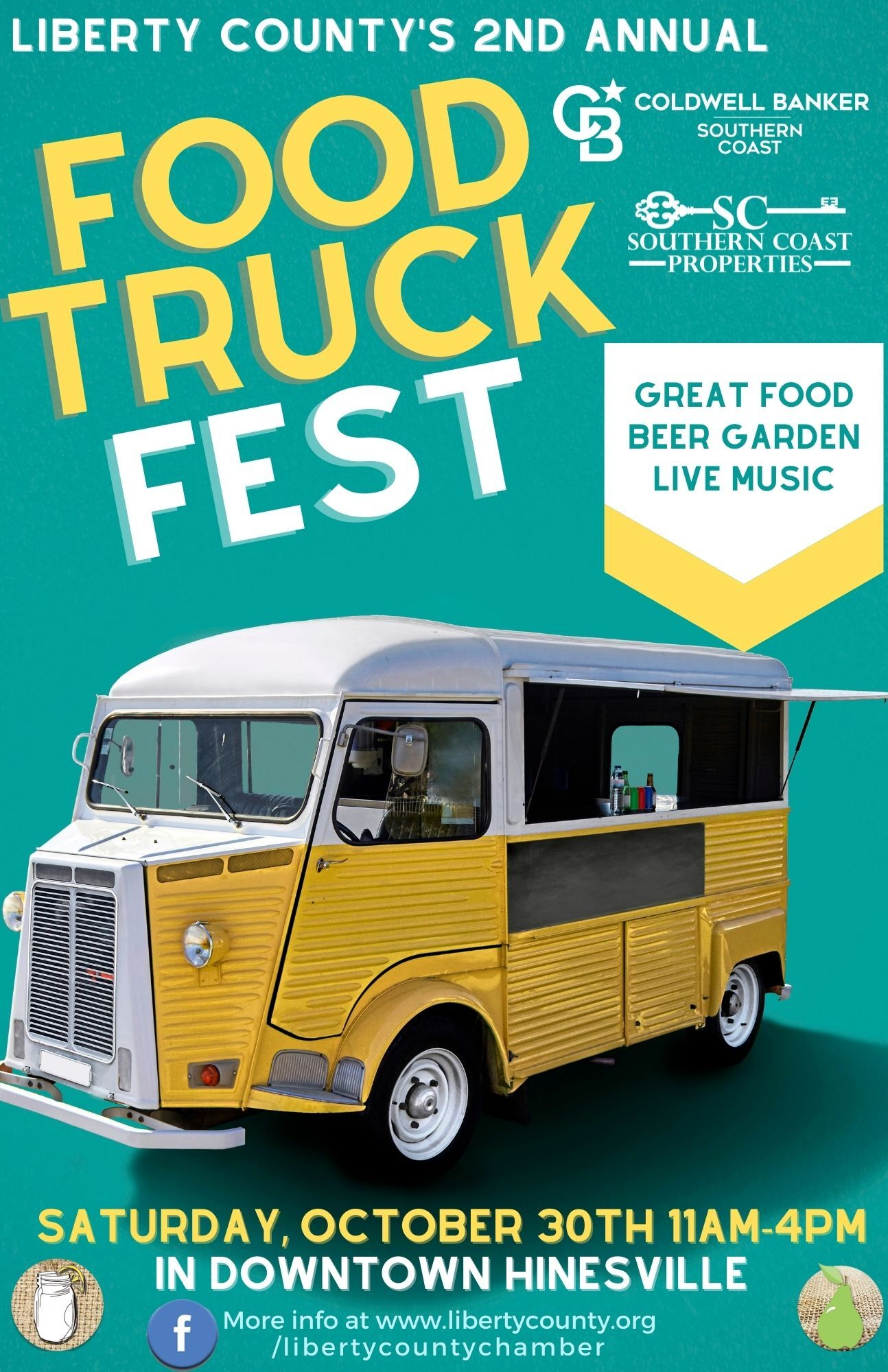 2nd Annual Liberty County Food Truck Festival