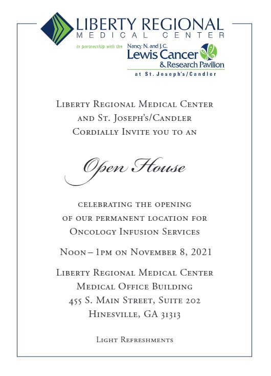 LRMC Open House