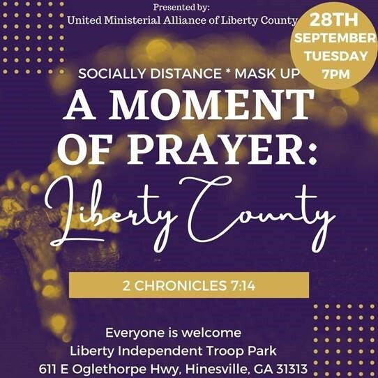 A Moment of Prayer: Liberty County
