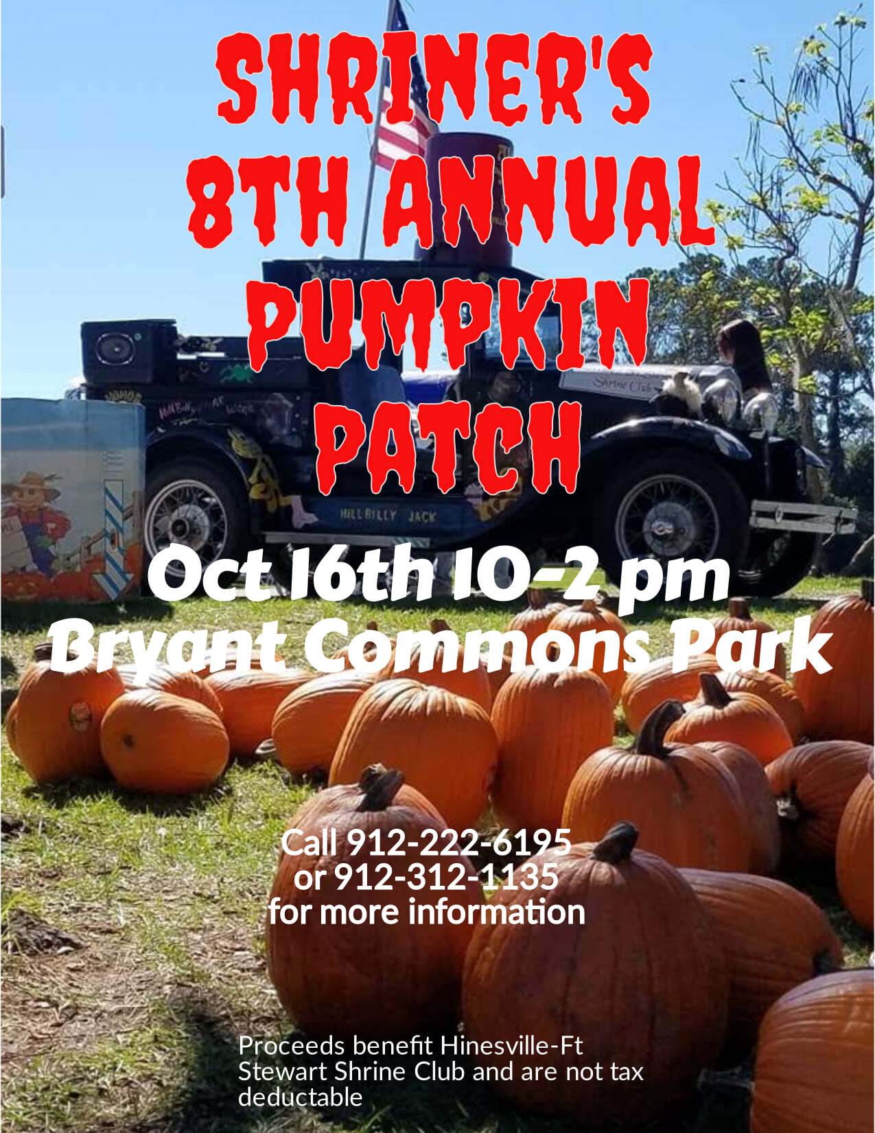 Shriner's 8th Annual Pumkin Patch