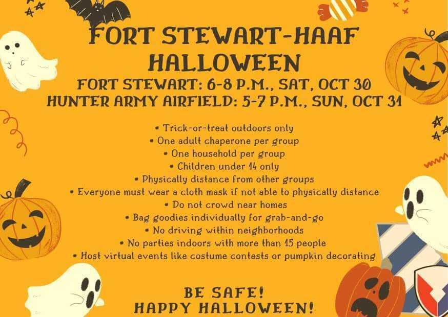 Fort Stewart and HAAF Halloween