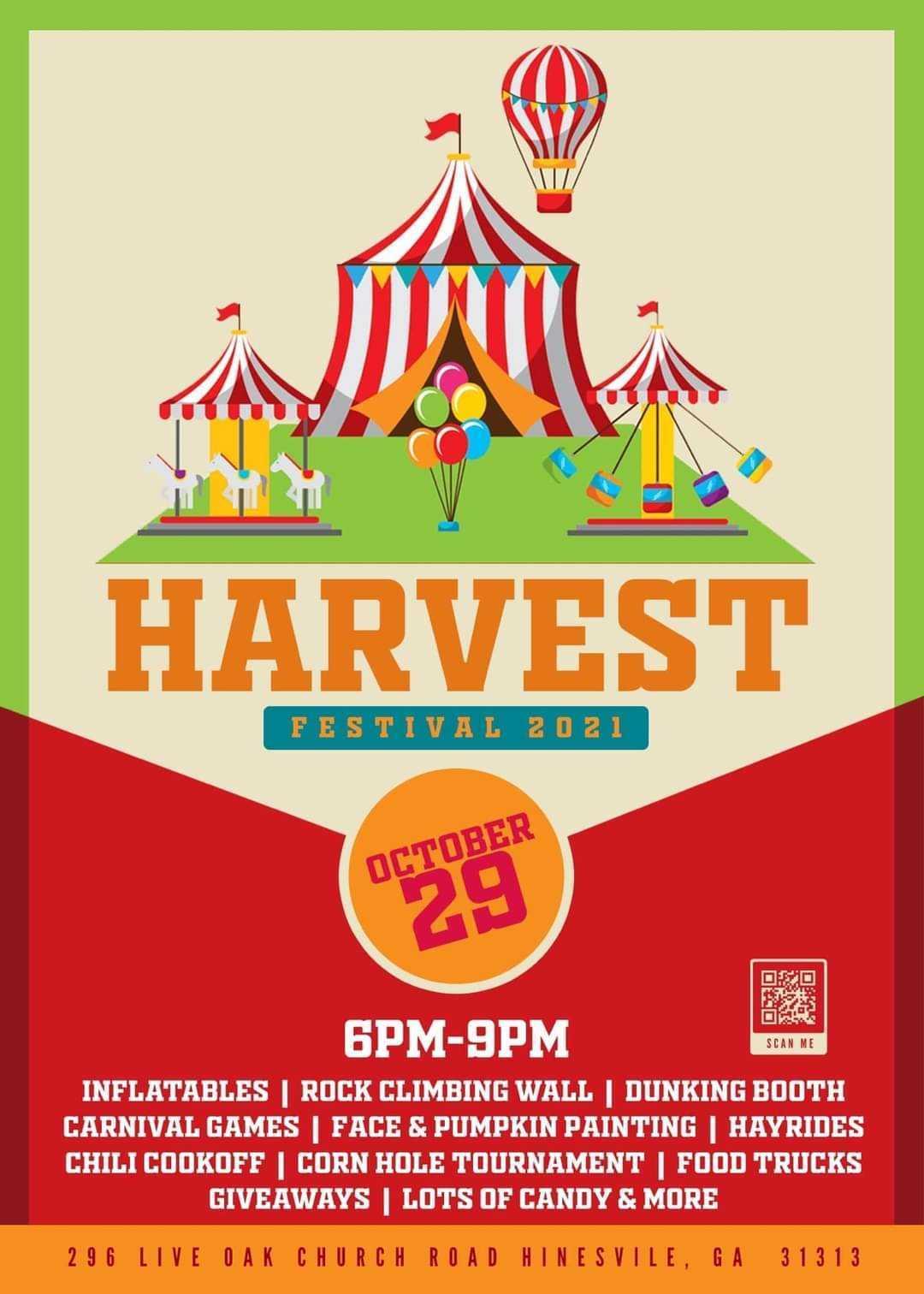 Live Oak Church Harvest Festival