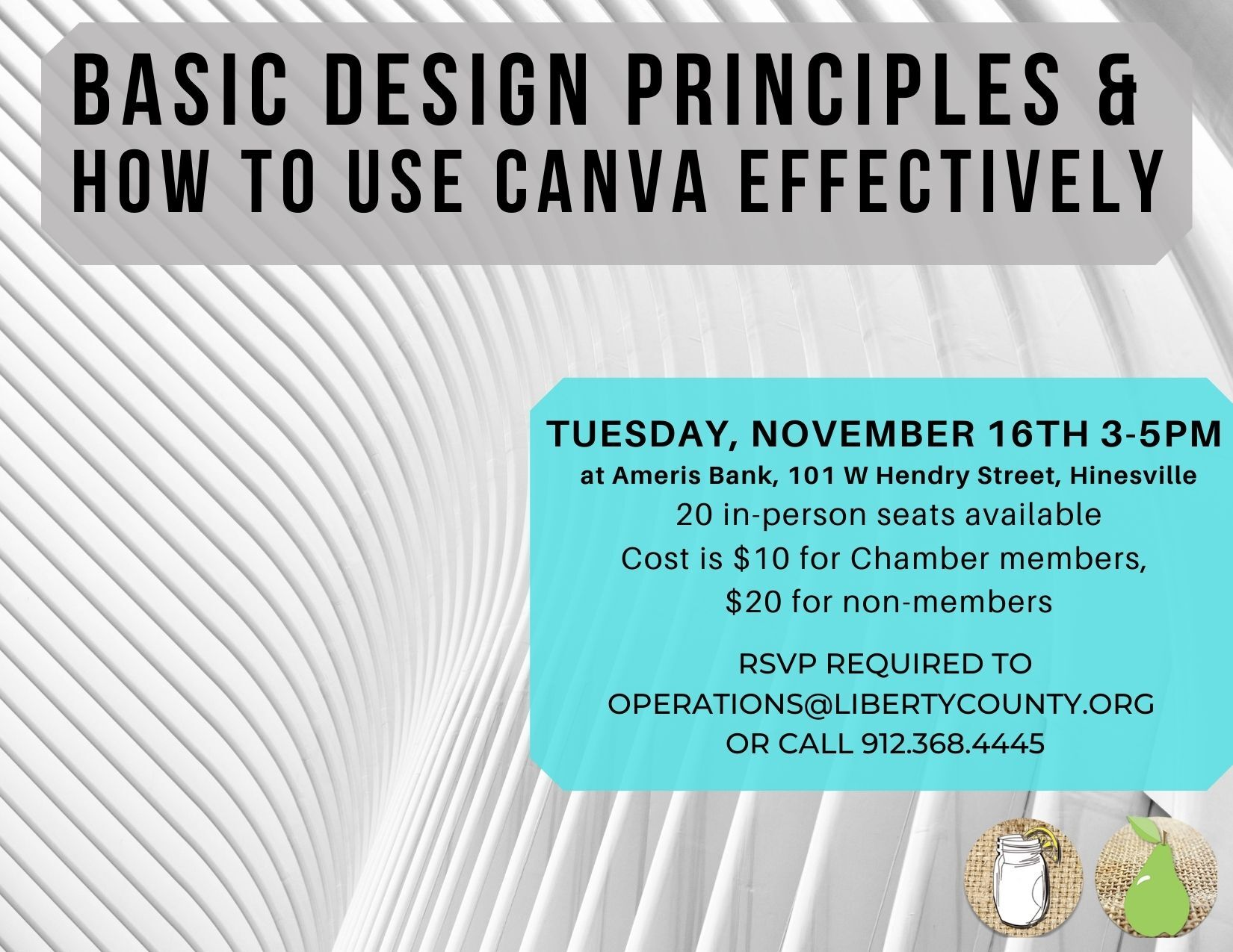 Basic Design Principles and How to Use Canva Effectively workshop
