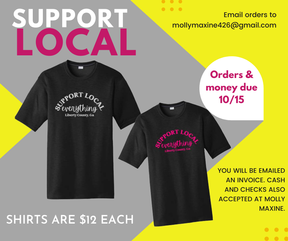 Support Local T-shirts from Molly Maxine