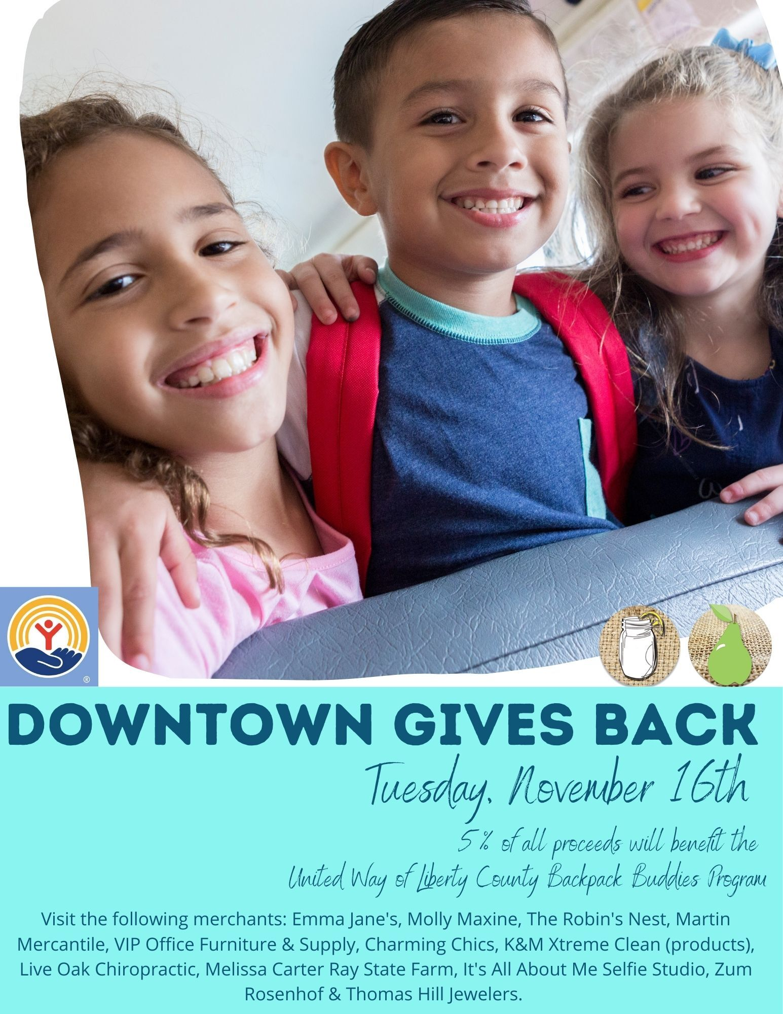 Downtown Gives Back