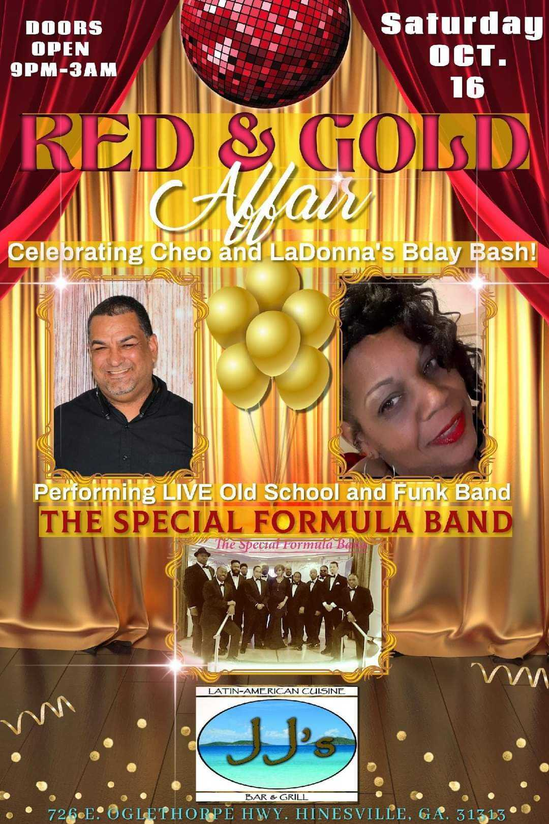 Red and Gold Affair